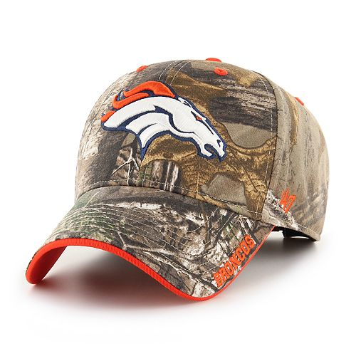 Adult '47 Brand Denver Broncos Frost Realtree Camouflage Adjustable Cap