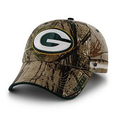 Adult '47 Brand Green Bay Packers Frost Realtree Camouflage Adjustable Cap