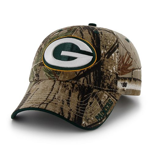 Adult  47 Brand Green Bay Packers Frost Realtree Camouflage Adjustable Cap 63289ca76