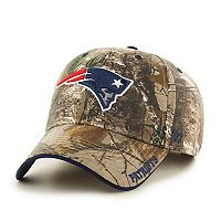 Adult '47 Brand New England Patriots Frost Realtree Camouflage Adjustable Cap