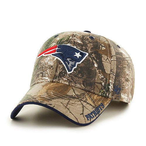 Adult '47 Brand New EnglandPatriots Frost Realtree Camouflage Adjustable Cap