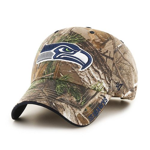 Adult '47 Brand Seattle Seahawks Frost Realtree Camouflage Adjustable Cap