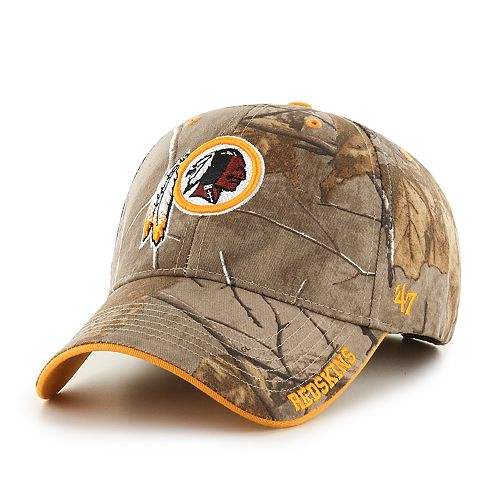 243699ae2ca  47 Brand Washington Redskins Frost Realtree Camouflage Adjustable Cap -  Adult