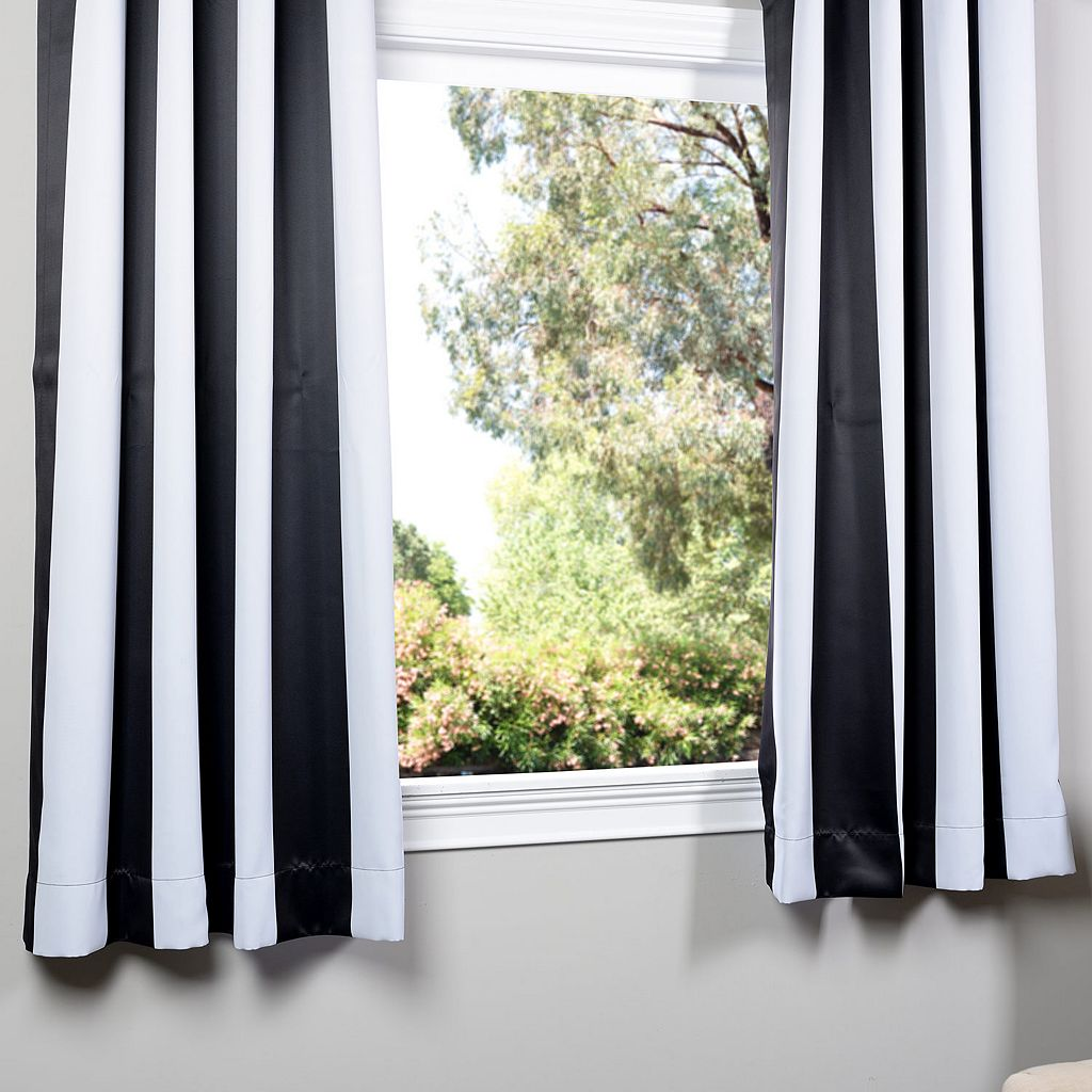 EFF Awning Striped Blackout Curtain - 50'' x 63''