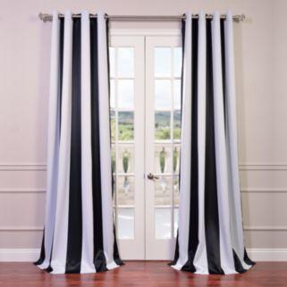 EFF Awning Striped Blackout Window Curtain - 50'' x 96''