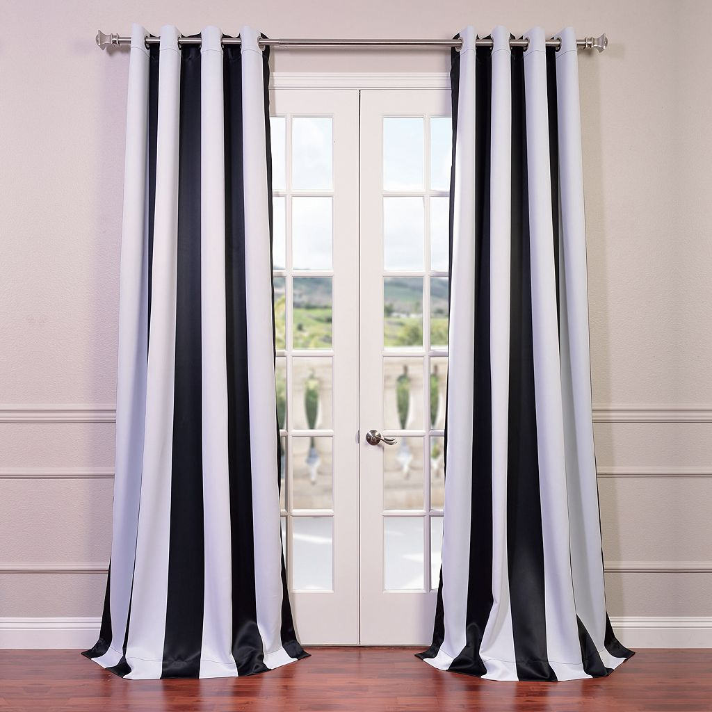 EFF Awning Striped Blackout Curtain - 50'' x 108''