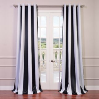 EFF Awning Striped Blackout Window Curtain - 50'' x 108''