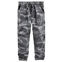 Boys 4-7x OshKosh B'gosh® Poplin Jogger Pants