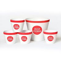Wabash Valley Farms 5-pc. Popcorn Serving Bucket Set