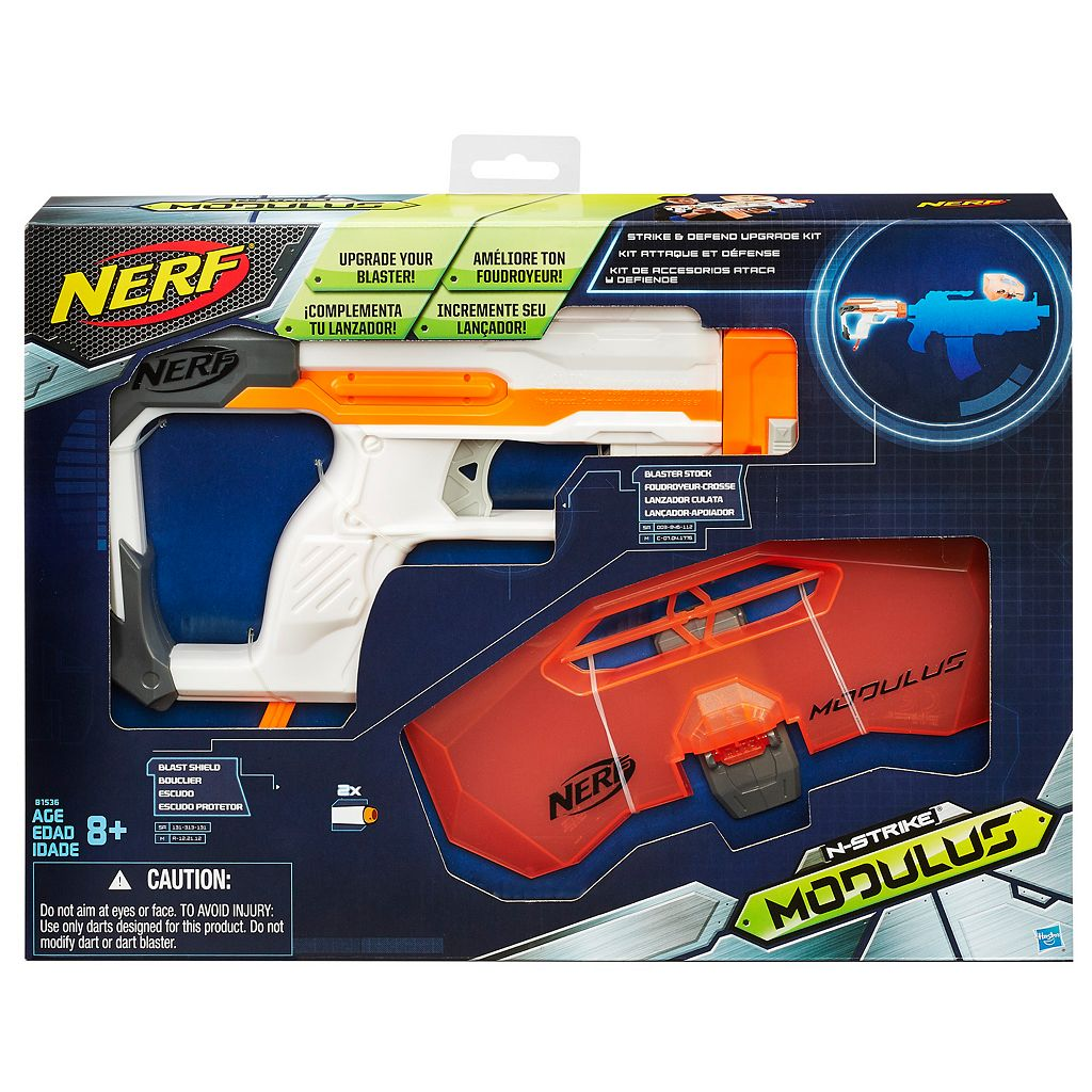 Nerf Modulus Strike & Defend Upgrade Kit