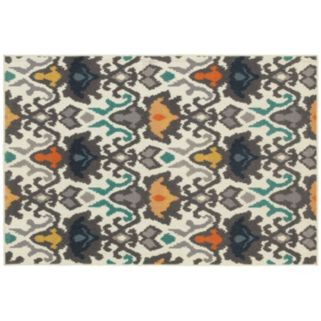 StyleHaven Longview Floral Tribal Ikat Indoor Outdoor Rug