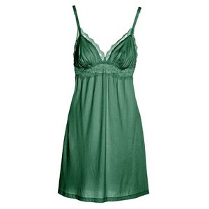 Women's Cosabella Amore Love Lace-Trim Babydoll Chemise