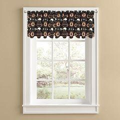 Colordrift Buffalo Roam Window Valance - 60'' x 14''