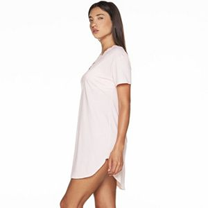 Women's COSABELLA Amore Love Lace-Trim V-Neck Sleepshirt