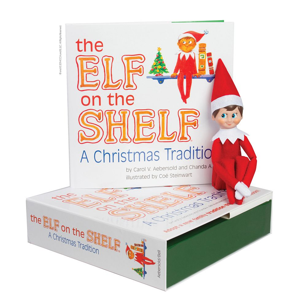 The Elf on the Shelf®: A Christmas Tradition Book & Scout Elf Collection