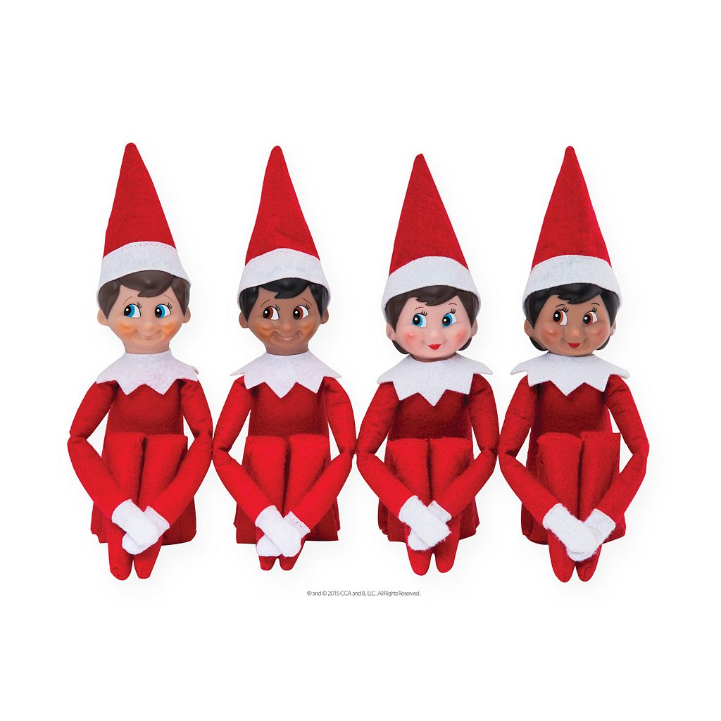 The Elf on the Shelf®: A Christmas Tradition Book & Blue-Eyed Boy Scout Elf