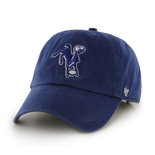 Adult '47 Brand Indianapolis Colts NFL Legacy Clean Up Adjustable Cap