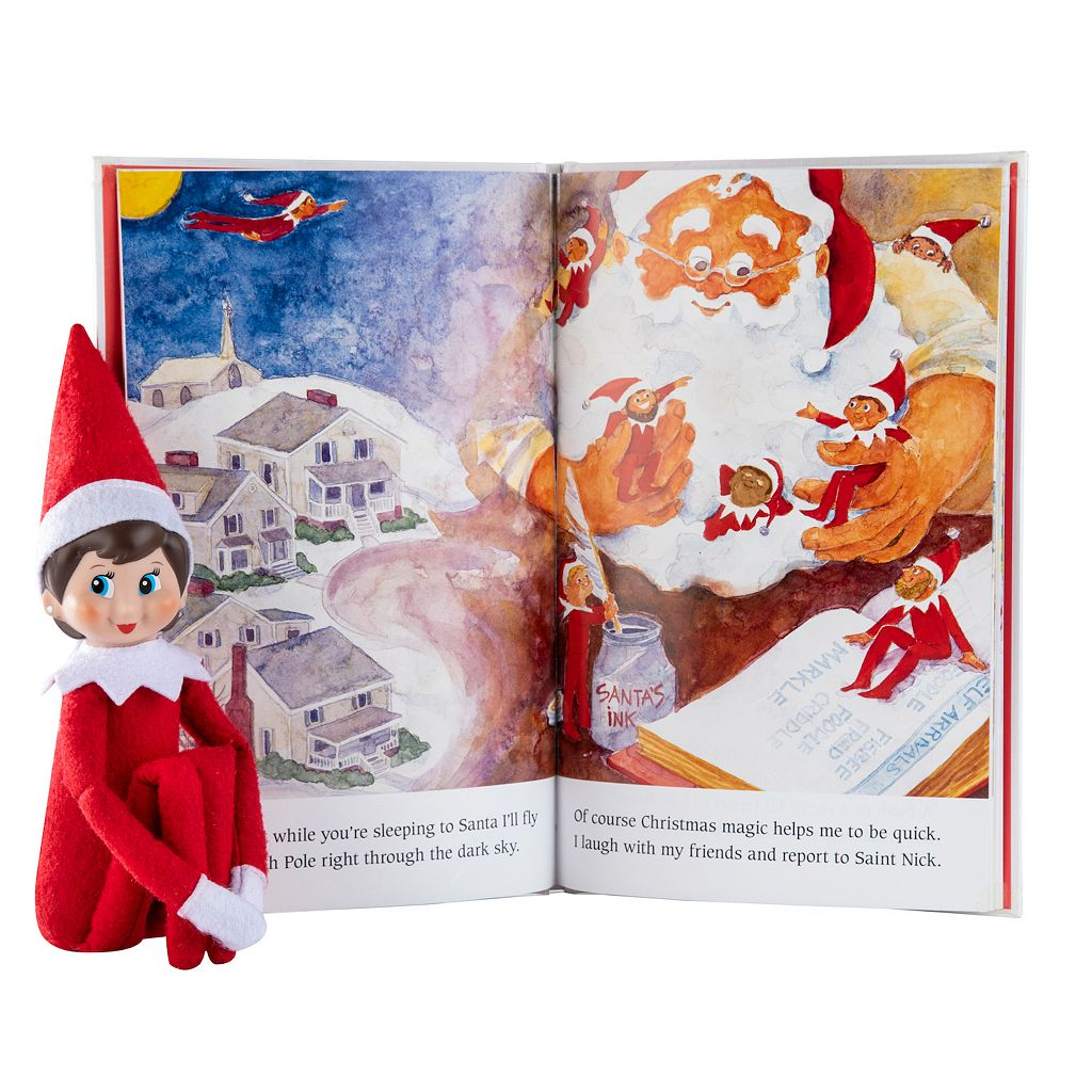 The Elf on the Shelf®: A Christmas Tradition Book & Blue-Eyed Girl Scout Elf