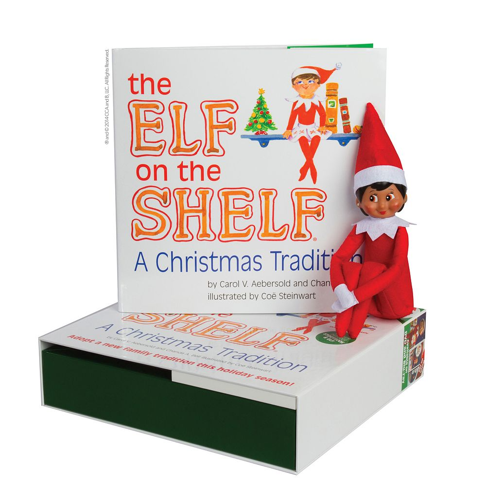 The Elf on the Shelf®: A Christmas Tradition Book & Brown-Eyed Girl ...