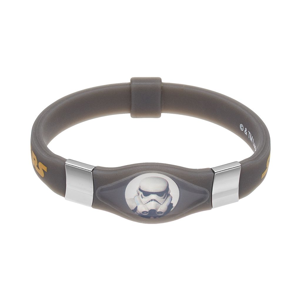 Star Wars Kids Glow-in-the-Dark Stormtrooper Bracelet
