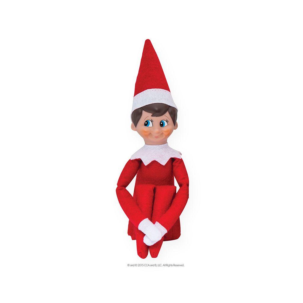 The Elf on the Shelf®: Una Tradición Navideña Spanish Language Book & Blue-Eyed Boy Scout Elf