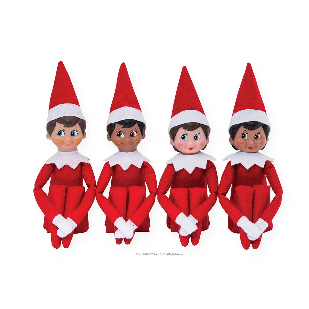The Elf on the Shelf®: Una Tradición Navideña Spanish Language Book & Blue-Eyed Girl Scout Elf