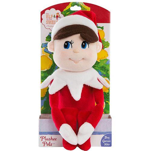 Plushee Pal Blue Eyed Boy Plush Toy By The Elf On The Shelf