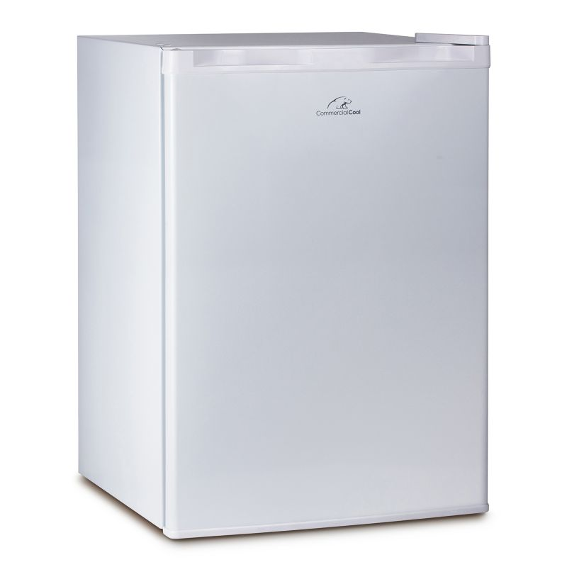Commercial Cool CC 2.6 cu. ft. Refrigerator & Freezer, White