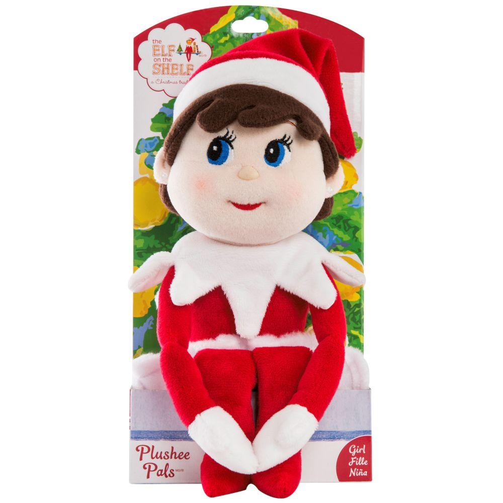 Plushee Pal Blue Eyed Girl Plush Toy By The Elf On The Shelf