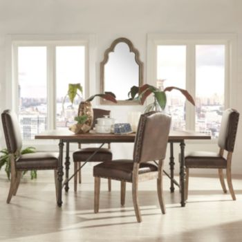 HomeVance Brookdale 5-piece Table and Chair Dining Set