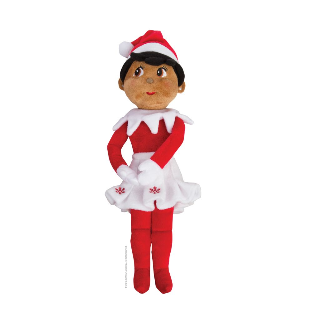 Plushee Pal Brown Eyed Girl Plush Toy By The Elf On The Shelf