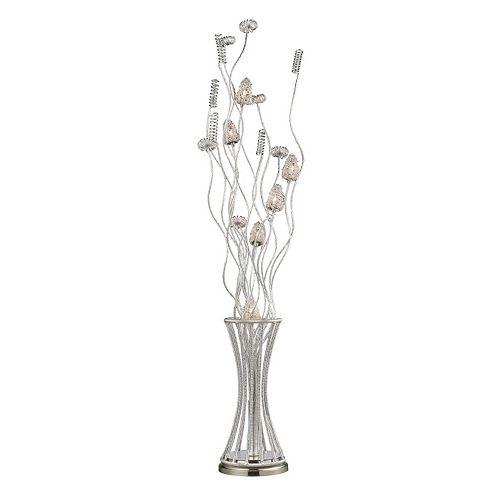 Dimond Gardens Floral Floor Lamp