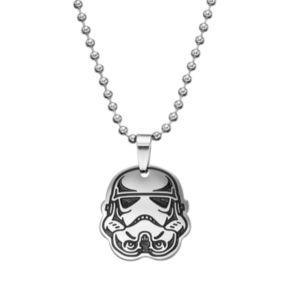 Star Wars Stainless Steel Stormtrooper Pendant Necklace