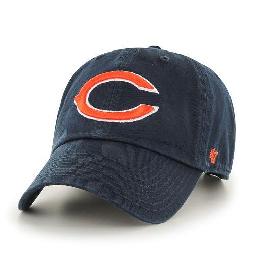Men's '47 Brand Chicago Bears Clean Up Adjustable Cap