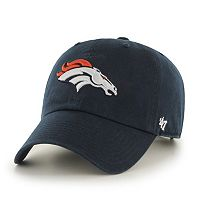 Adult '47 Brand Denver Broncos Clean Up Adjustable Cap