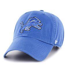 Adult '47 Brand Detroit Lions Clean Up Adjustable Cap