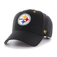 '47 Brand Pittsburgh Steelers Audible MVP Adjustable Cap - Men