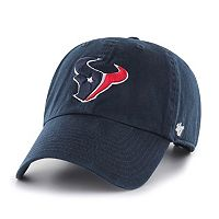 Men's '47 Brand Houston Texans Clean Up Adjustable Cap