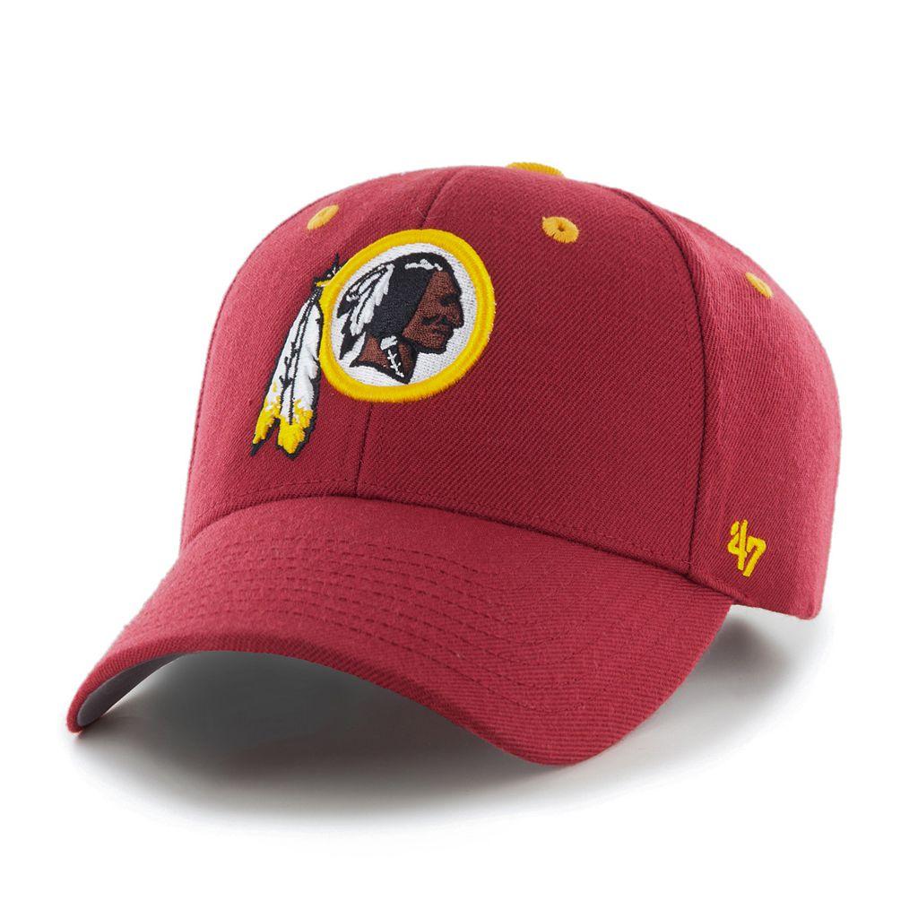 Men's '47 Brand Washington Redskins Audible MVP Adjustable Cap