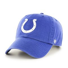 Adult '47 Brand Indianapolis Colts Clean Up Adjustable Cap