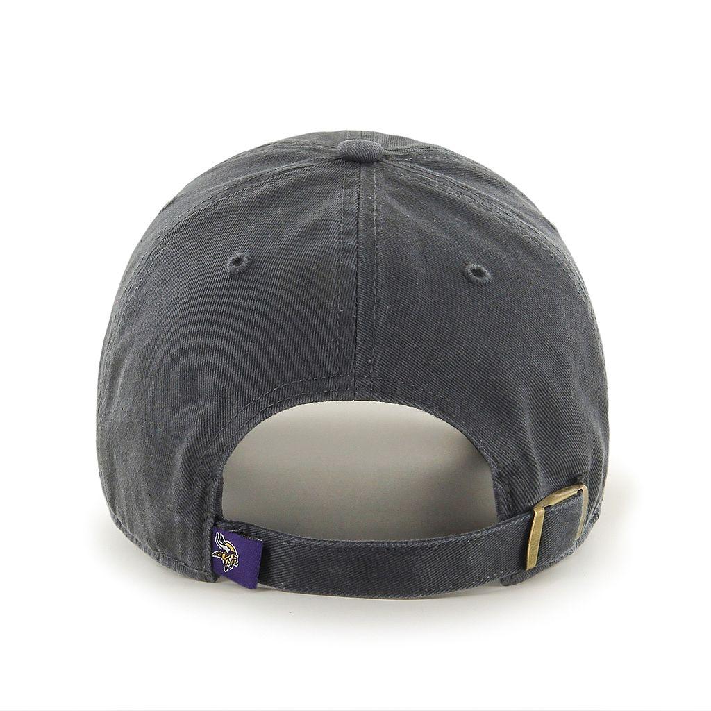 Adult '47 Brand Minnesota Vikings Clean Up Adjustable Cap
