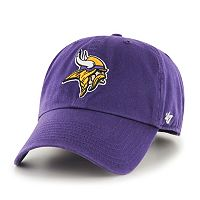 Adult '47 Brand Minnesota Vikings Clean Up Adjustable Cap