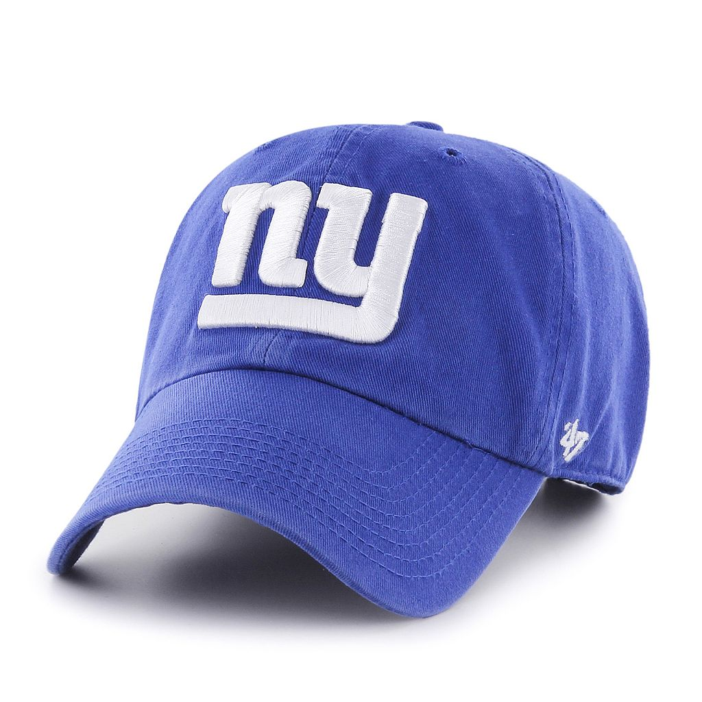Adult '47 Brand New York Giants Clean Up Adjustable Cap