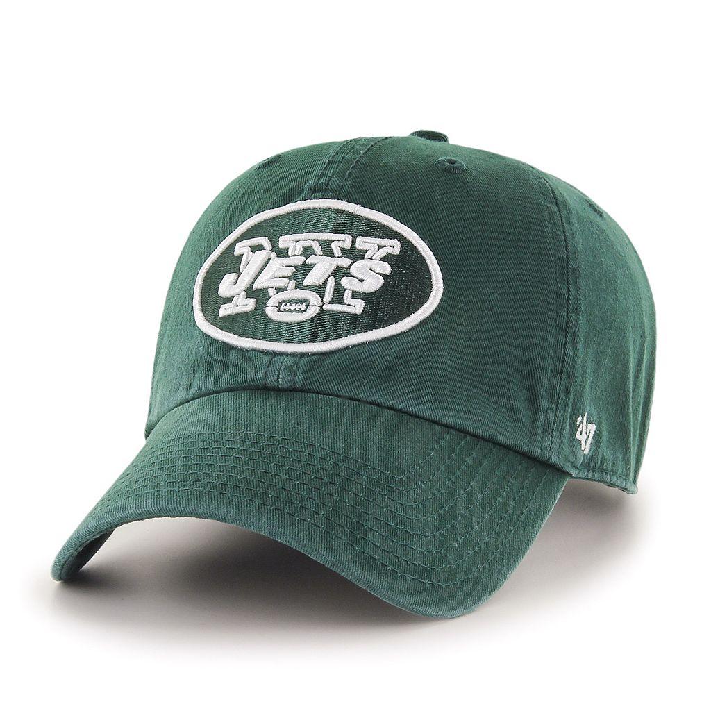 Adult '47 Brand New York Jets Clean Up Adjustable Cap