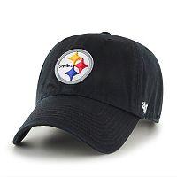 Adult '47 Brand Pittsburgh Steelers Clean Up Adjustable Cap