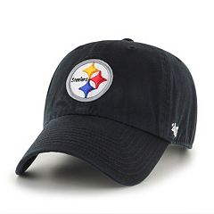 Adult '47 Brand Pittsburgh Steelers Clean Up Adjustable Cap