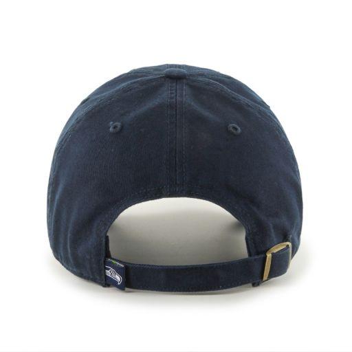 Men's '47 Brand Seattle Seahawks Clean Up Adjustable Cap