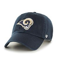 Adult '47 Brand St. Louis Rams Clean Up Adjustable Cap