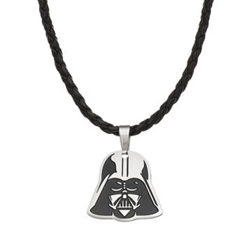 Star Wars Stainless Steel Darth Vader Pendant Necklace