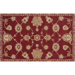 Artisan Weaver Johnson Floral Wool Rug